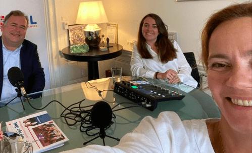 VVD-kamerlid Judith Tielen op bezoek in het Ondernemershuis Nederland