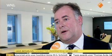 Oplossing ZZP-problematiek is nodig, Hans Biesheuvel bij WNL Goedemorgen Nederland