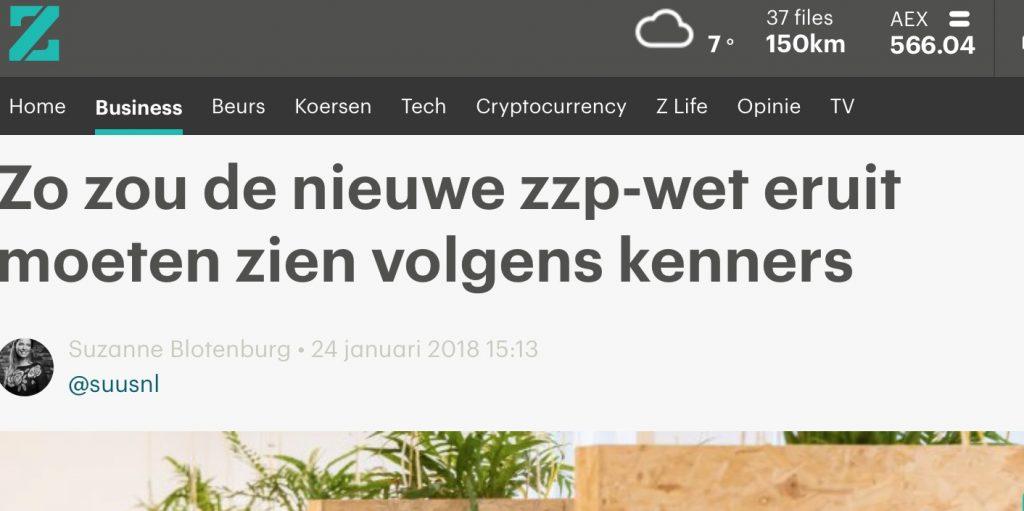 RTL - Z - zou zou zap-wet er uit moeten zien volgens experts