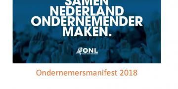 ONL Ondernemersmanifest gemeenteraadsverkiezingen 2018