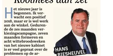 Koolmees aan zet - Column Hans Biesheuvel